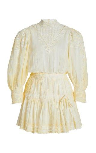 Viola Hand-Dyed Cotton Mini Dress