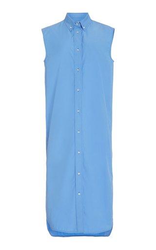 Ukara Collared Cotton Shirt Dress