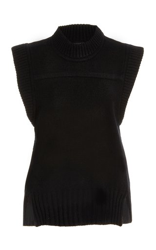 Siberut Wool-Cashmere Sweater Vest
