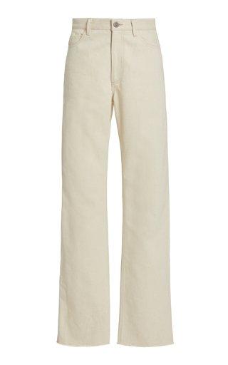 Madison Rigid High-Rise Straight-Leg Jeans