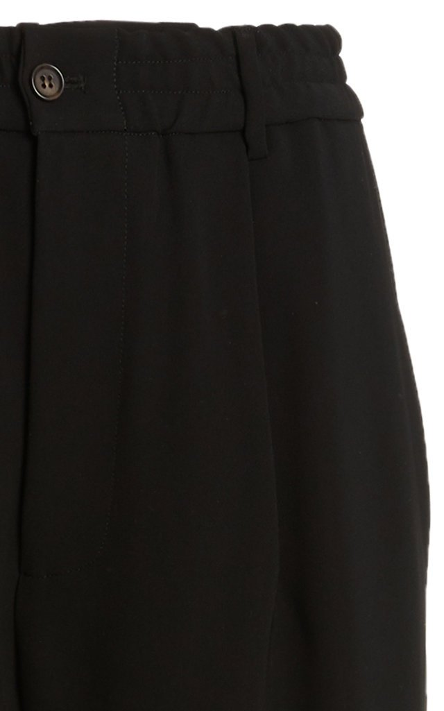 Viola Crepe Cropped Cargo Pant