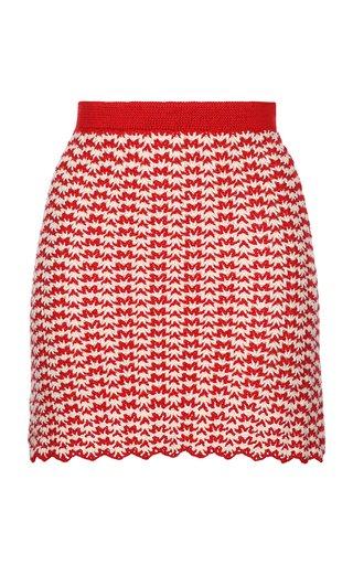 Ana Crochet Cotton Mini Skirt