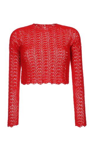 Mawi Crochet Cotton Top