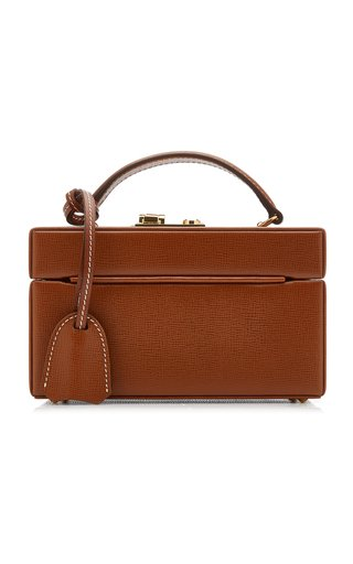 1845 Exclusive Mini Leather Trunk Bag
