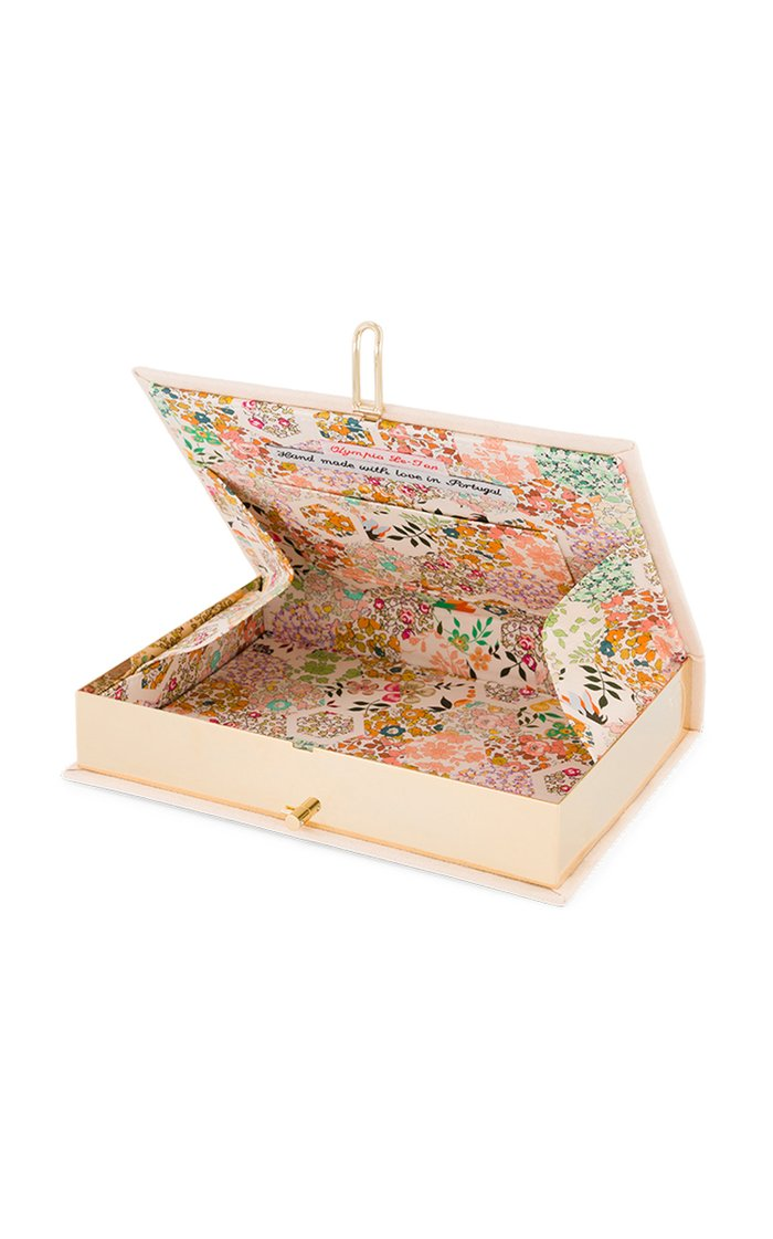 Harpers Bazaar Boating Style Embroidered Clutch