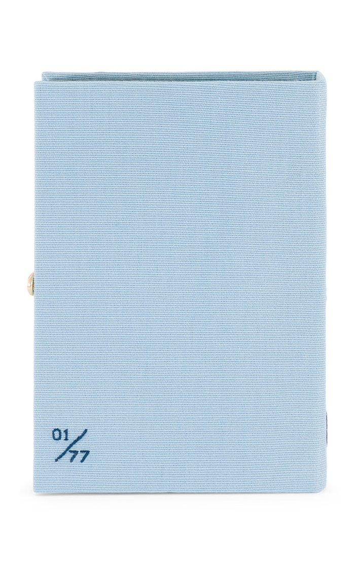 The Waves Embroidered Book Clutch