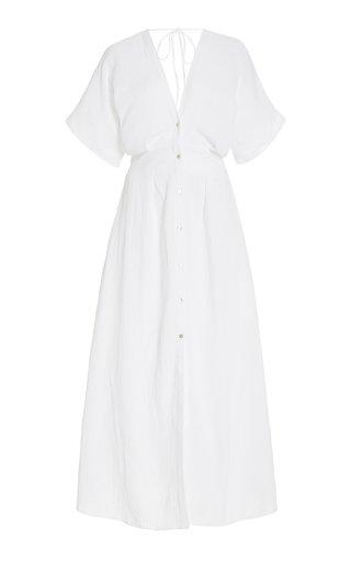 Ines Cotton Shirt Dress