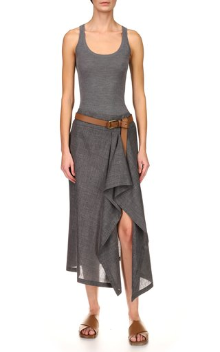 Pare Wool-Blend Skirt