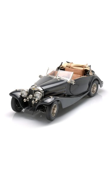 Model Of A 1930S Mercedes, Hand-Made