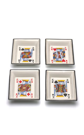 Christian Dior Playing Card Dishes