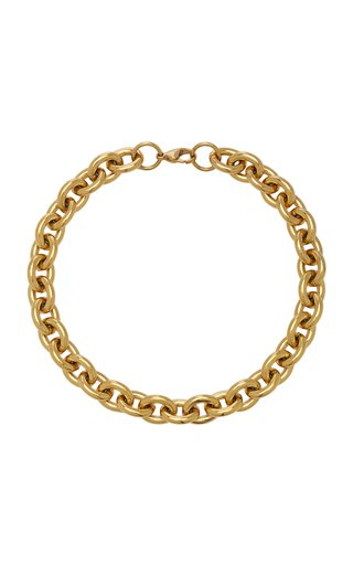 Alexandria 18k Gold-Plated Rolo Chain Necklace