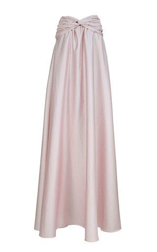 Etérea Cotton Maxi Skirt