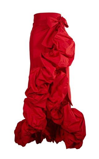Lola Tafeta Wrap Skirt