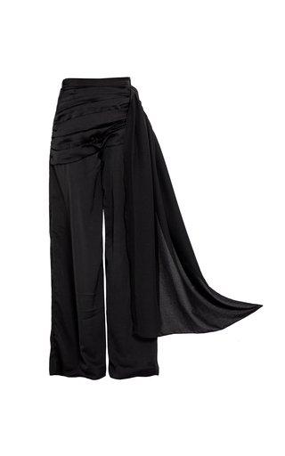 Amaia Silk Wide-Leg Pants