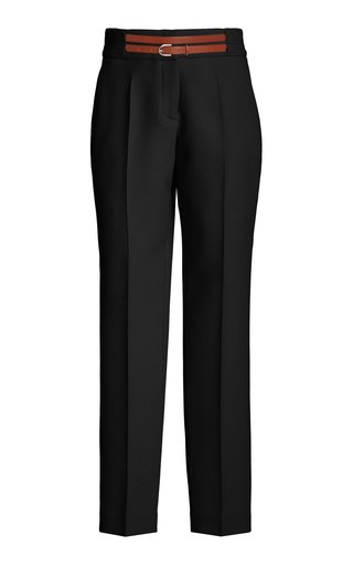 Bottas Straight-Leg Wool Pant