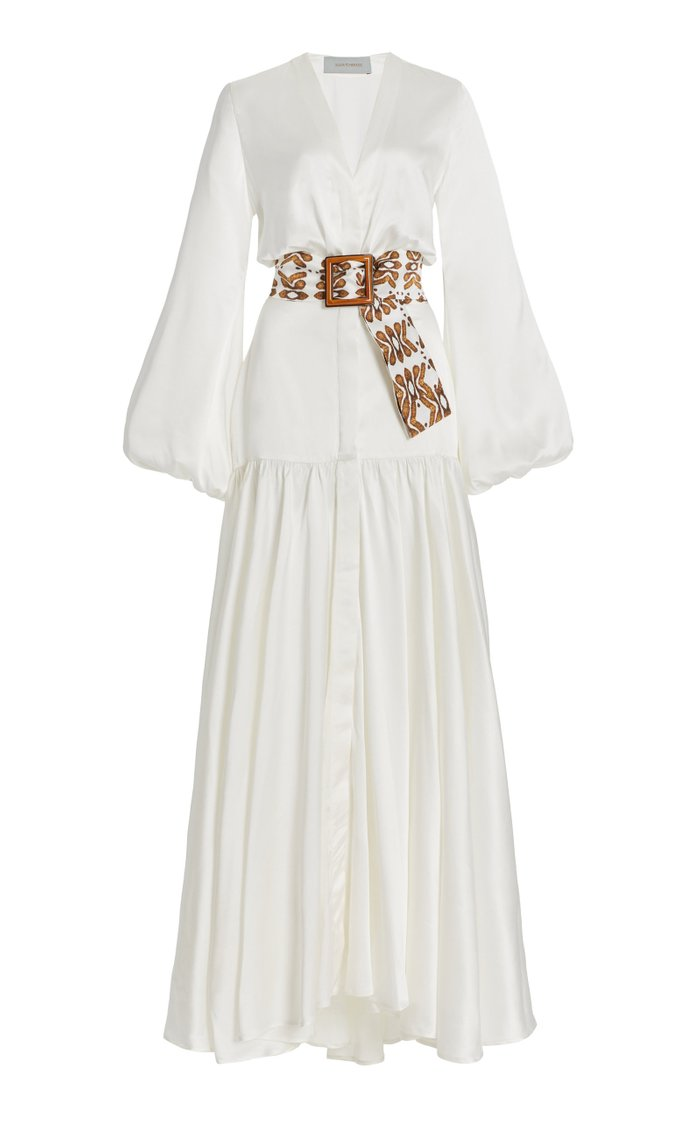 Felicity Silk Maxi Dress