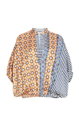 Solana Printed Cotton Shirt