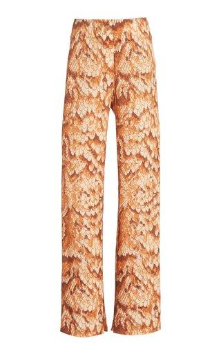Tabbie Printed Cupro Pant
