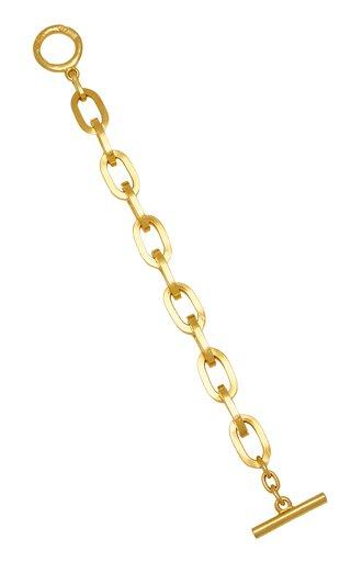 Gold-Plated Link Bracelet