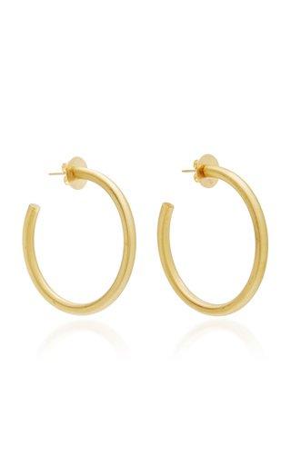 Georgia 18k Gold Hoop Earrings