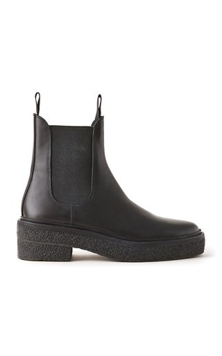 Raquel Leather Chelsea Boots