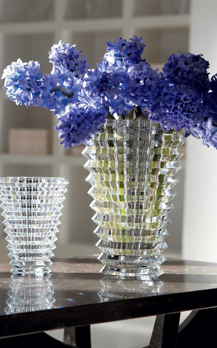 Eye Vase Small Round Clear