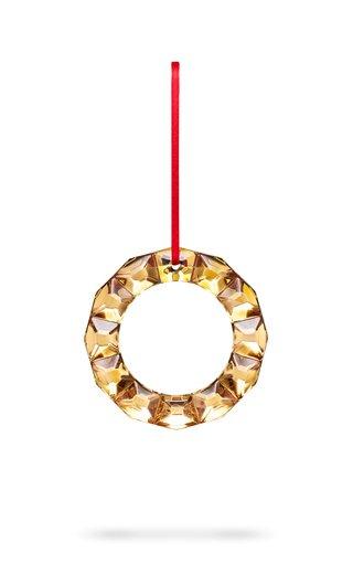 Wreath Ornament 20K Gold