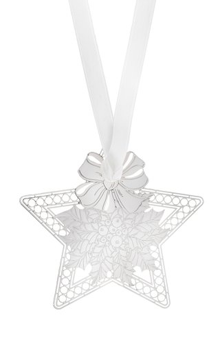 Foret Royale Holly Star Ornament