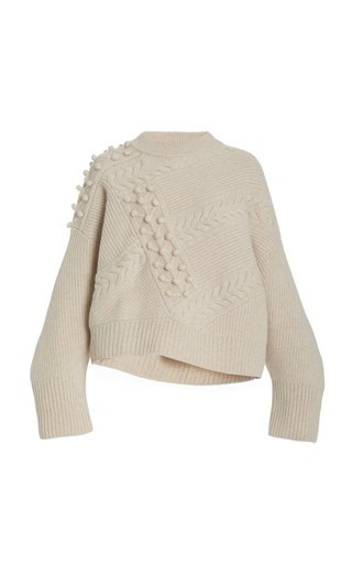 Giraglia Cable-Knit Wool-Cashmere Sweater