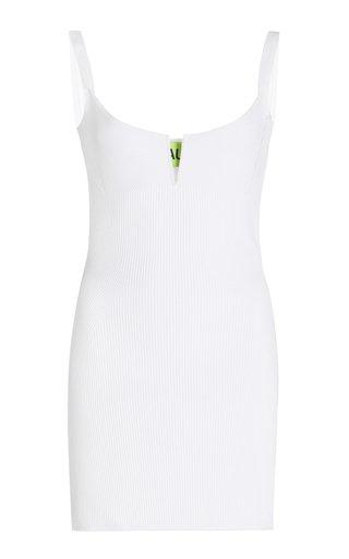 Adeje Ribbed-Knit Mini Dress