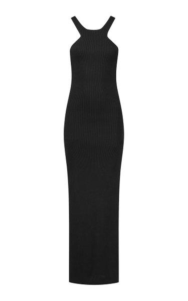 Avila Ribbed-Knit Maxi Dress