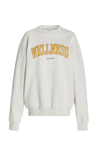 Wellness Ivy Cotton Jersey Sweatshirt