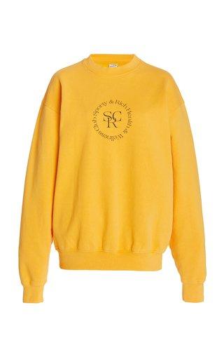 Logo-Print Cotton Jersey Sweatshirt