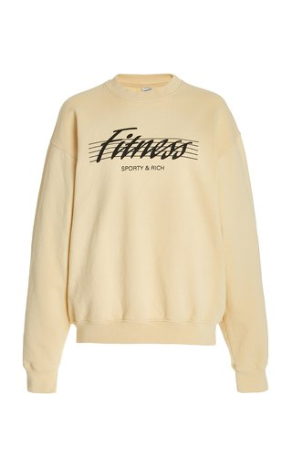 80s Fitness Cotton Sweatshirt