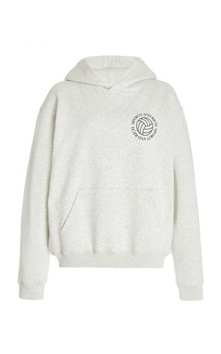 Volleyball Cotton Hoodie