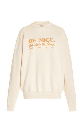 Be Nice Cotton Sweatshirt