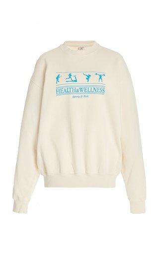 Health and Wellness Cotton Sweatshirt