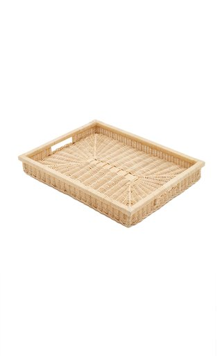 Raffia Rectangular Tray