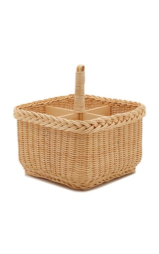 Raffia Condiments Holder
