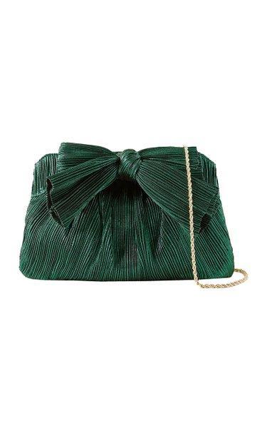 Rayne Pleated Bow Shoulder Bag