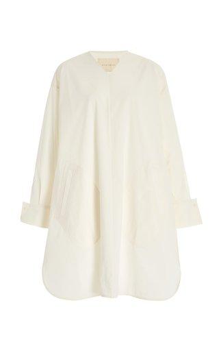 Oversized Poplin Dress Shirt