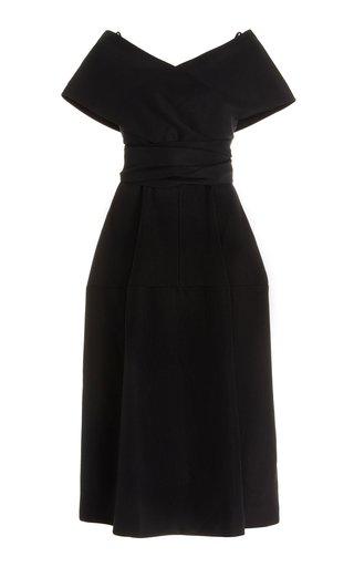 Cady Midi Wrap Dress