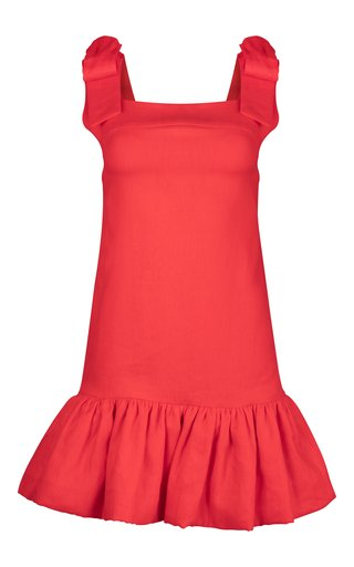 Vermilian Linen Dress
