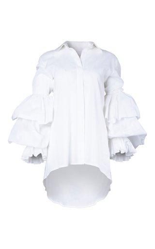 Ila Ruffled Cotton Top