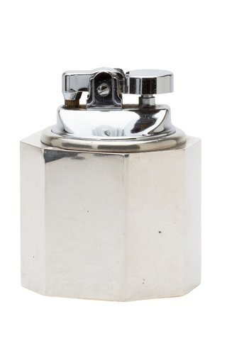 Cartier Sterling Silver Art Deco Weighted Table Lighter