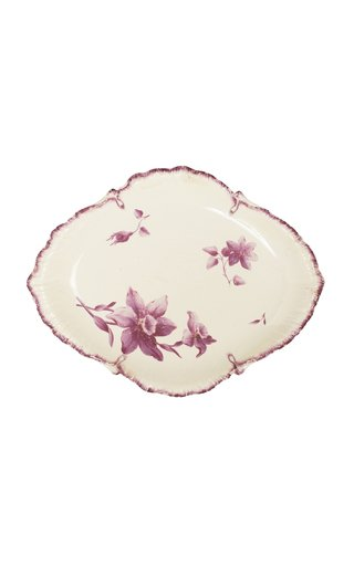 Wedgwood Creamware Oval Plate