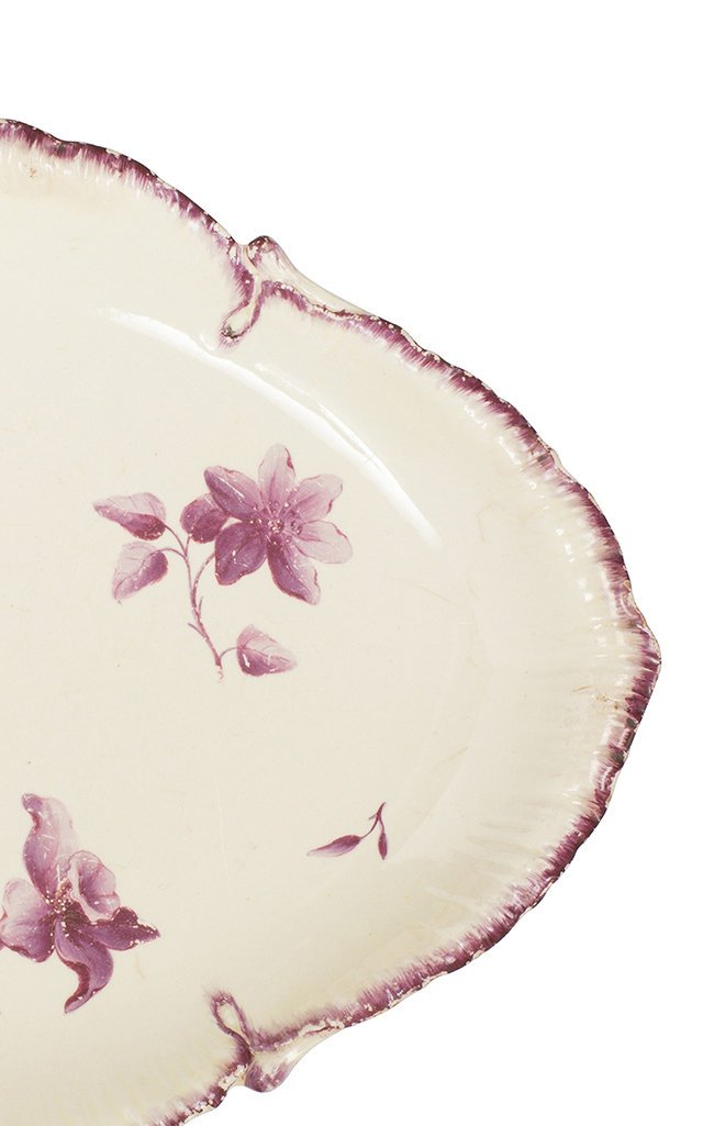 Wedgwood Creamware Oval Plate