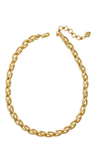 Harley 24k Gold-Plated Chain Necklace
