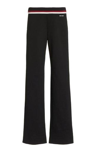 Fleece Straight-Leg Pants