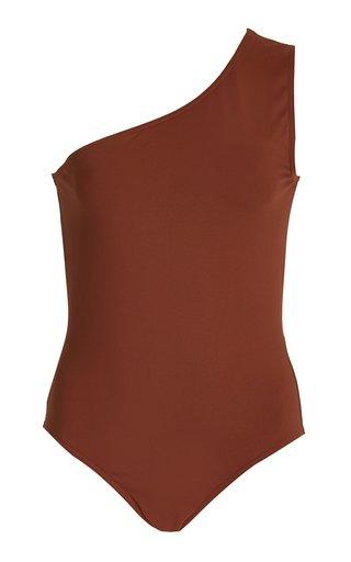 Effigie Single-Shoulder One-Piece Swimsuit